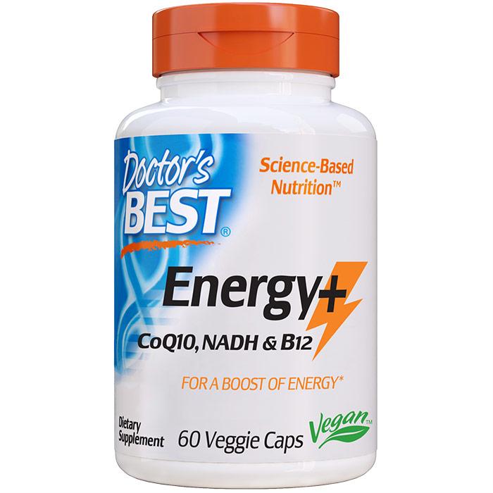 Energy + CoQ10, NADH & B12, 60 Veggie Caps, Doctors Best