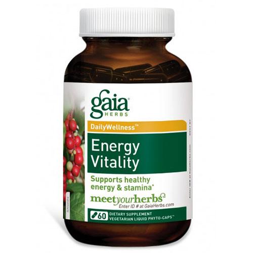 Energy Vitality, 60 Liquid Phyto-Caps, Gaia Herbs