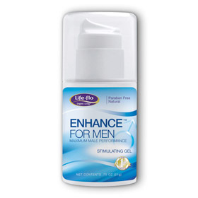 Life-Flo Enhance for Men, Male Performance Gel, 0.75 oz, LifeFlo