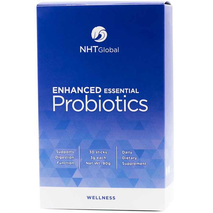 Enhanced Essential Probiotics, 3 g x 30 Sticks, NHT Global