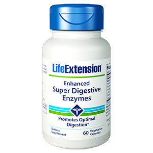 Enhanced Super Digestive Enzymes, 60 Vegetarian Capsules, Life Extension