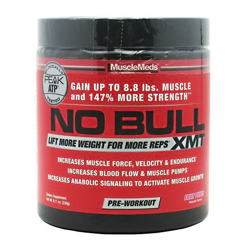 NO Bull XMT, Pre-Workout, 8.11 oz (20 Servings), MuscleMeds