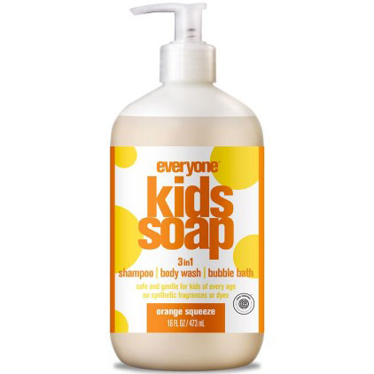 EO Products Everyone Soap 3-in-1 for Kids - Orange Squeeze, 16 oz