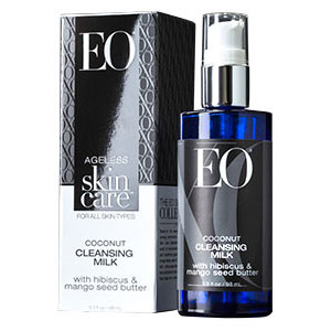 Image of EO Products Ageless Skin Care - Coconut Cleansing Milk, 3.3 oz