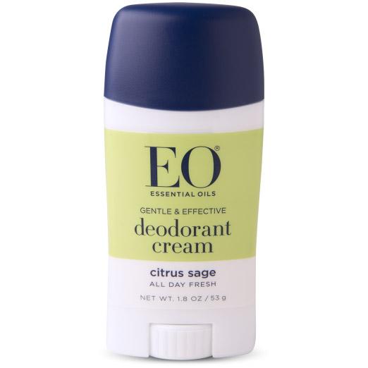 EO Products Deodorant Cream - Citrus Sage, 1.8 oz