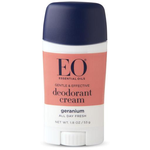 EO Products Deodorant Cream - Geranium, 1.8 oz