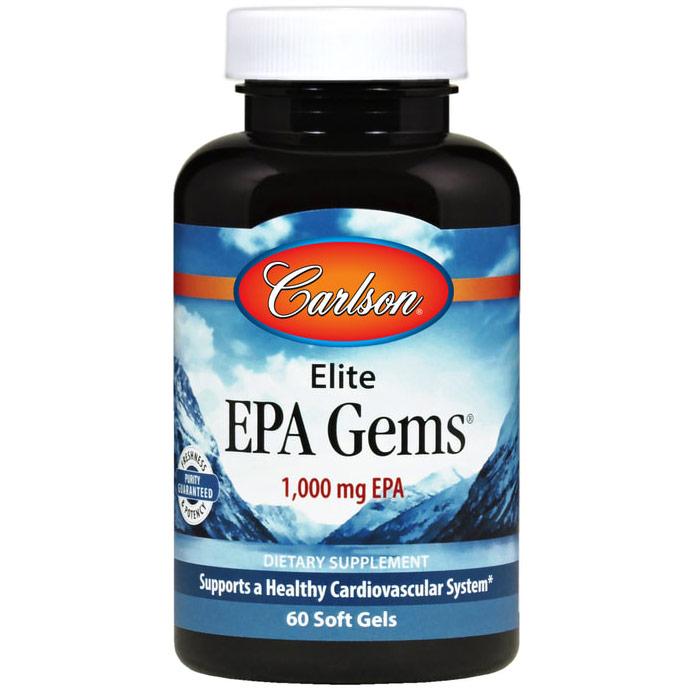 EPA Gems, 400 mg EPA & 100 mg DHA, 60 softgels, Carlson Labs