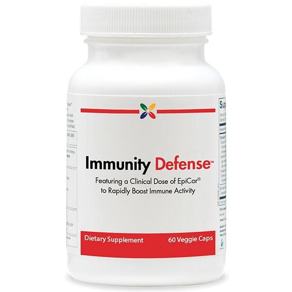 Immunity Defense with EpiCor, 60 Veggie Caps, Stop Aging Now