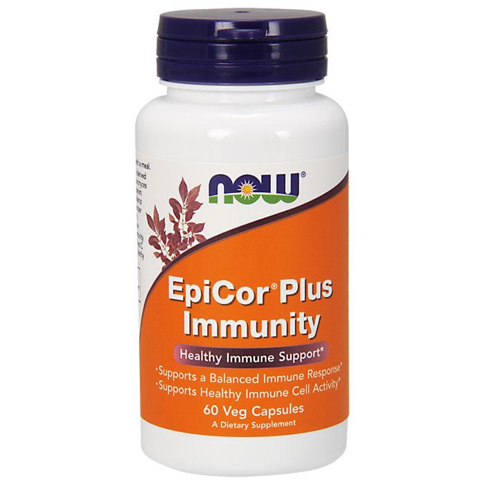 Epicor Plus Immunity, 60 Vcaps, NOW Foods