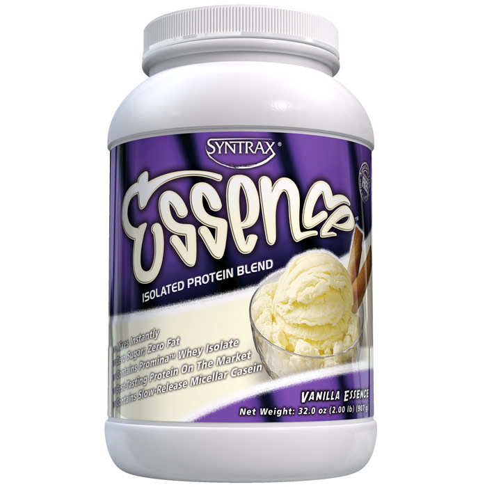 Essence - Vanilla, Isolated Protein Blend, 2 lb, Syntrax