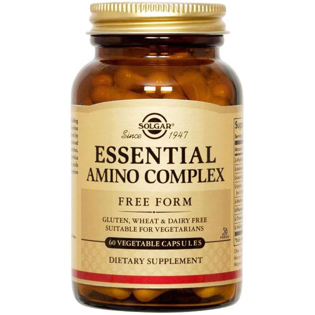 Essential Amino Acid Complex, 90 Vegetable Capsules, Solgar