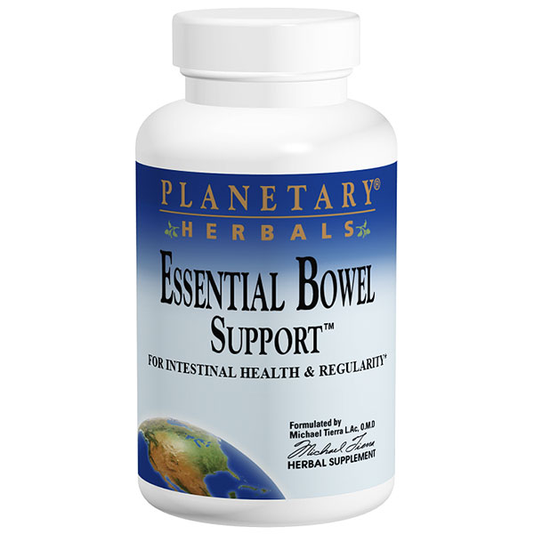 Essential Bowel Support, 120 Tablets, Planetary Herbals