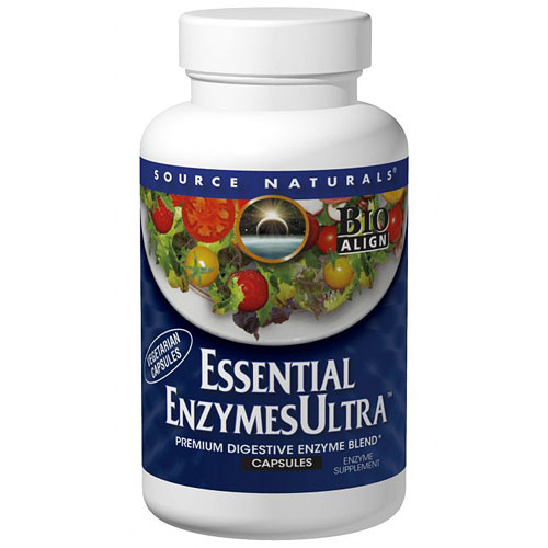 Essential Enzymes Ultra Caps, 30 Capsules, Source Naturals