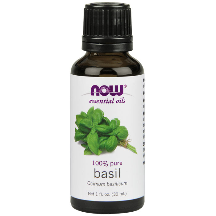 Basil Oil, Essential Oil 1 oz. from NOW Foods