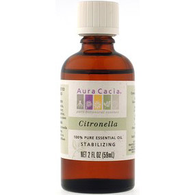 Essential Oil Citronella (cymbopagon nardus) 2 fl oz from Aura Cacia