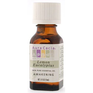 Essential Oil Eucalyptus, Lemon (eucalyptus citriodora) .5 fl oz from Aura Cacia