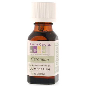 Essential Oil Geranium (pelargonium graveolens) .5 fl oz from Aura Cacia