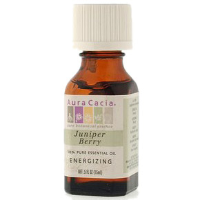 Essential Oil Juniper Berry (juniperus communis) .5 fl oz from Aura Cacia