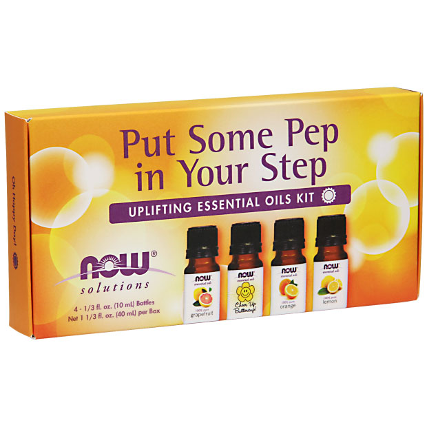 Essential Oil Kit - Put Some Pep in Your Step, NOW Foods