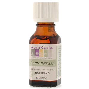 Essential Oil Lemongrass (cymbopagon citratus) .5 fl oz from Aura Cacia