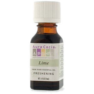 Essential Oil Lime (citrus aurantifolia) .5 fl oz from Aura Cacia