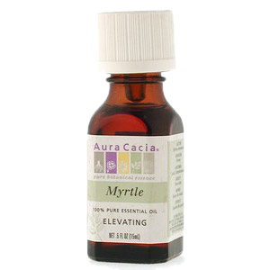 Essential Oil Myrtle (myrtus communis) .5 fl oz from Aura Cacia