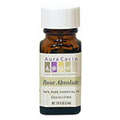 Essential Oil Rose Absolute (rosa centifolia) .125 oz, from Aura Cacia