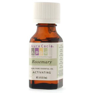 Essential Oil Rosemary (rosemarinus officinalis) .5 fl oz from Aura Cacia