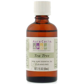 Essential Oil Tea Tree (melaleuca alternafolia) 2 fl oz from Aura Cacia