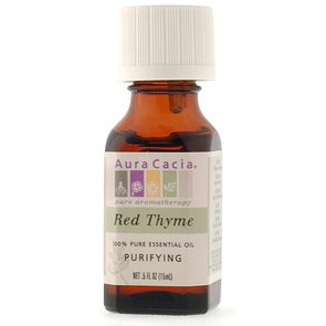 Essential Oil Thyme, Red (thymus vulgaris) .5 fl oz from Aura Cacia