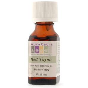 Essential Oil Thyme, Red (thymus vulgaris) .5 fl oz from Aura Cacia