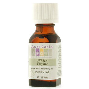 Essential Oil Thyme, White (thymus vulgaris) .5 fl oz from Aura Cacia