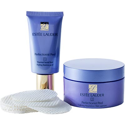 Estee Lauder Perfectionist Peel 2-Step Enzyme Activating Treatment, 1.7 oz Tube + 30 Pads