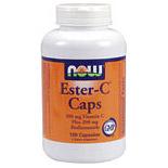 Ester-C 500mg Complex 180 Caps, NOW Foods