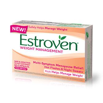 Estroven Weight Management, Multi-Symptom Menopause Relief, 60 Capsules, i-Health, Inc.