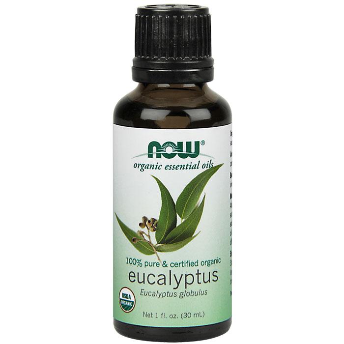 Eucalyptus Oil 1 oz, Organic Essential Oil, NOW Foods