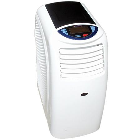 Soleus Air Evaporative Portable Air Conditioner 12,000 BTU, w/ Heat Pump Dehumidifier, Fan, Heater (PH3-12R-03DB)
