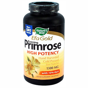 Evening Primrose Oil EPO 1300mg 120 softgels from Nature's Way