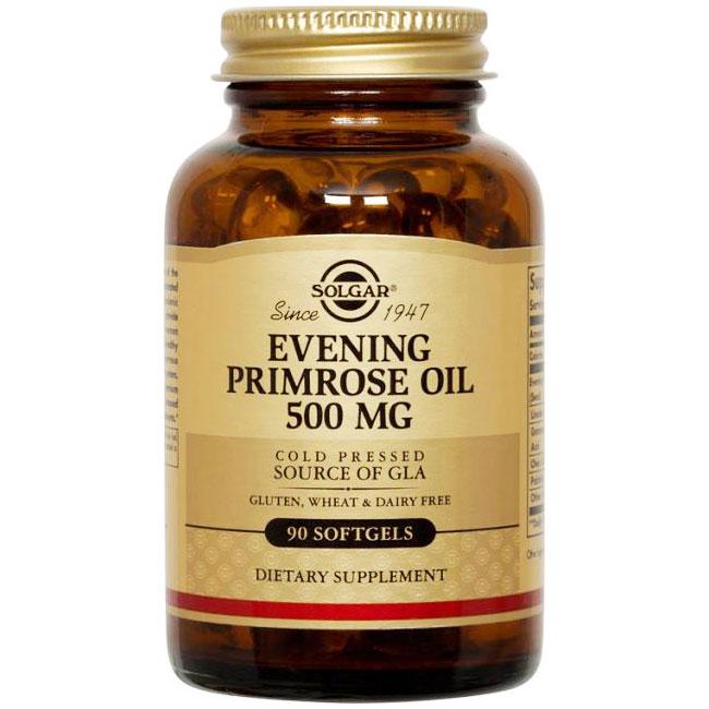 Evening Primrose Oil 500 mg, 180 Softgels, Solgar