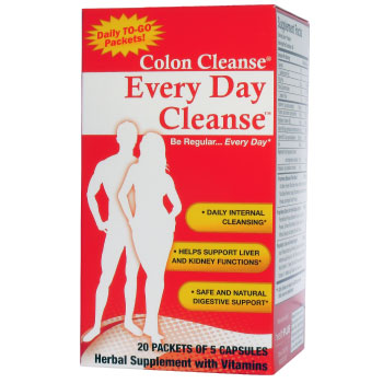 Every Day Cleanse, 20 Packets, Health Plus