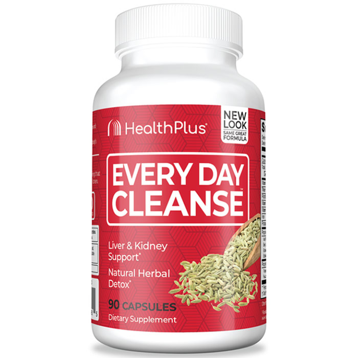 Every Day Cleanse, 90 Capsules, Health Plus Inc.