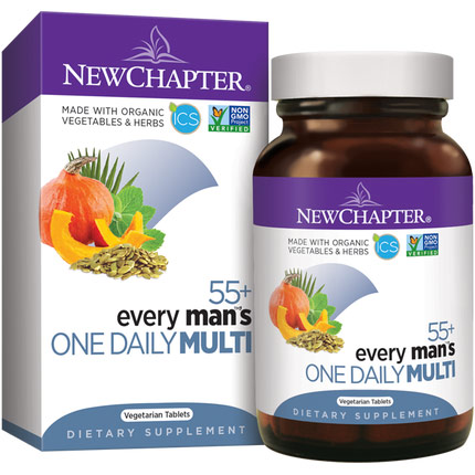 Every Mans One Daily 55+ Multivitamin, 24 Tablets, New Chapter