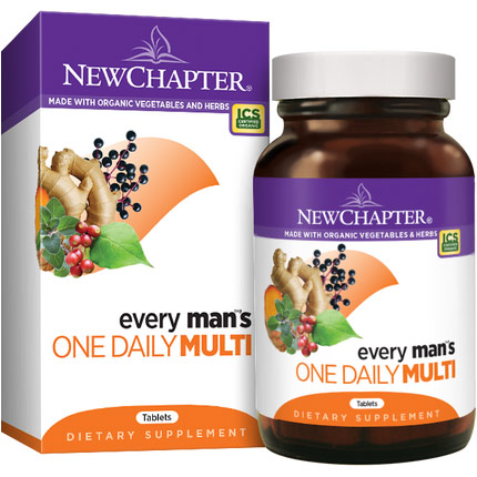 Every Mans One Daily Multivitamin, 96 Tablets, New Chapter