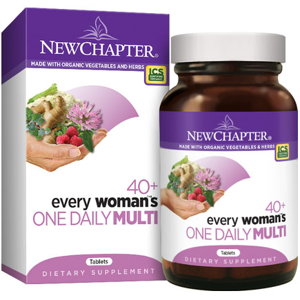 Every Womans One Daily 40+ Multivitamin, 96 Tablets, New Chapter