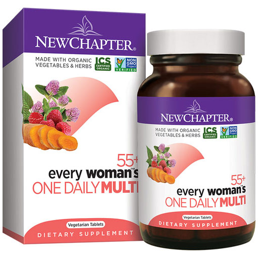 Every Womans One Daily 55+ Multivitamin, 24 Tablets, New Chapter