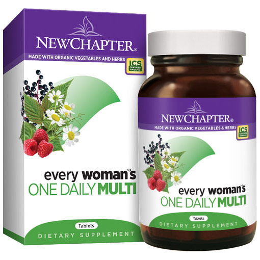 Every Womans One Daily Multivitamin, 96 Tablets, New Chapter