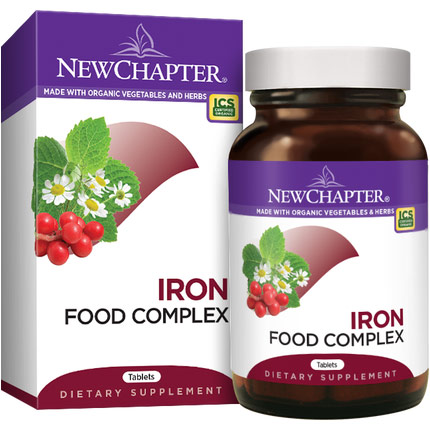 Every Womans Iron Support, 60 Tablets, New Chapter