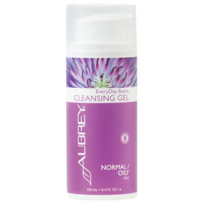 EveryDay Basics Cleansing Gel for Normal to Oily Skin, 3.4 oz, Aubrey Organics