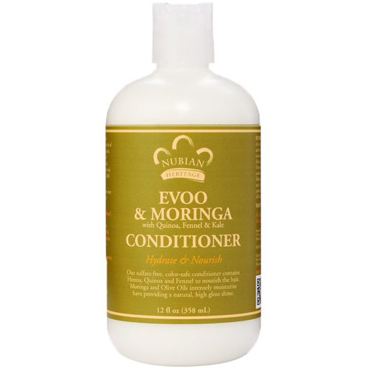 Image of Evoo & Moringa Conditioner, 12 oz, Nubian Heritage