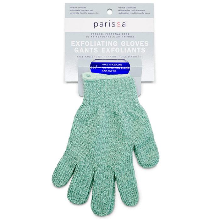Image of Exfoliating Gloves, 1 Pair, Parissa